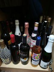 50 Flaschen wein Sekt Marken