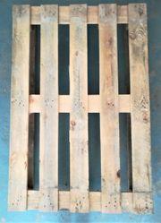 11 Holzpaletten Euro- und kleinere