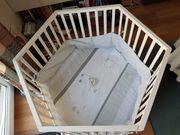 Sehr gut erhaltener Baby Laufstall