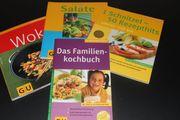 diverse Kochbücher GU unbenutzt