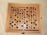 Holz Labyrinth Spiel