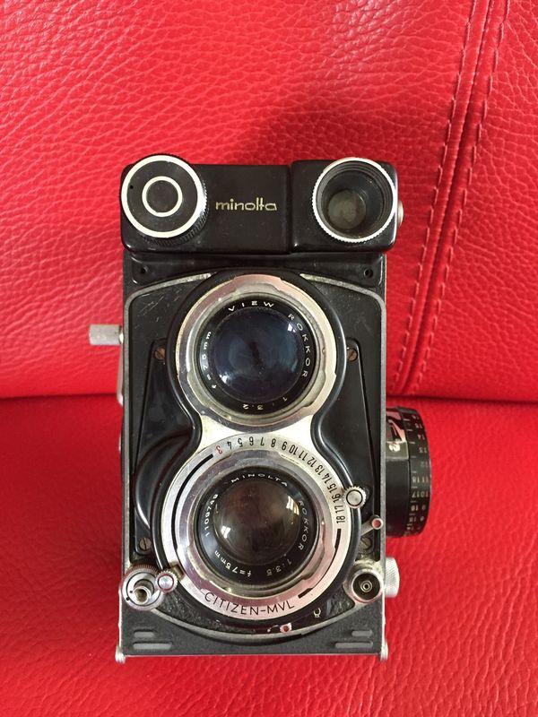 Minolta Autocord Spiegelreflexkamera Rarität