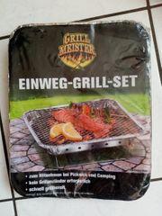 Einweg-Grill-Set