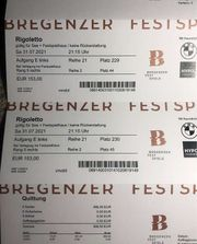 RIGOLETTO 2 Karten Kombi-Ticket