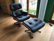 Vitra Lounge Chair Ottoman Charles