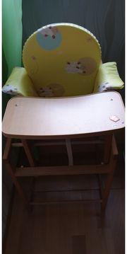 Kinderhochstuhl mit Sitzverkleinerung