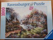 Ravensburger-Puzzle 1000 Teile Im Morgenglanz