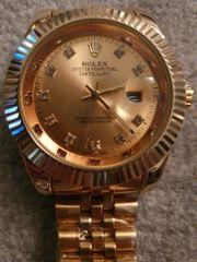 Rolex Uhr gold