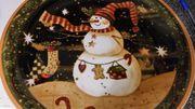 Plätzchenteller Weihnachten
