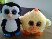 Glubschi Pinguin und Küken Set