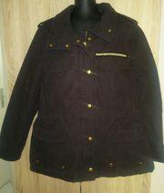 Jacke aus festem Baumwolltwill von