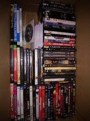 90 DVD s gemischt