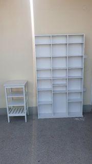 verkaufe ein schlankes Bücherregal 102