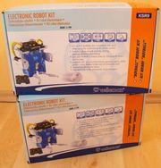2x Velleman Bausatz mobiler Roboter