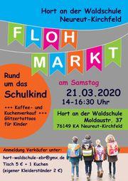 21 03 2020 Flohmarkt Hort