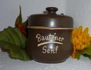 Bautzner Senftopf Keramik m Bautzner