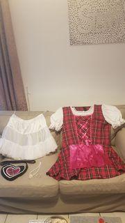 Damen Dirndl Kleid Größe 48