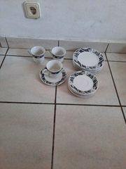 Kaffee Service 12 Teile nur