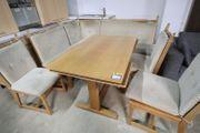 Eckbank mit Stühlen Tisch - HH170814