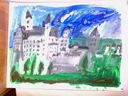Gemälde - Schloß Neuschwanstein