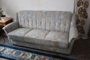 gut erhaltenes Sofa 3-Sitzer mehrfarbig