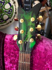 Auffällige Customer-E-Gitarre Sammlerstück