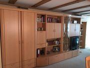 Wohnzimmer Elementschrankwand