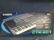 Casio Electronic Keyboard CTK-601