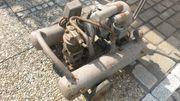 ehemaliger Industriekompressor