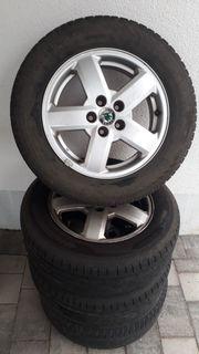 Reifen auf Alufelgen - Skoda Octavia