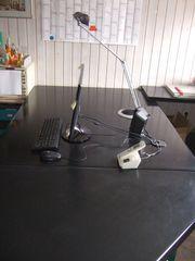 Büroschreibtisch mit Druckerunterschrank Sonderanfertigung