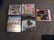 PS3 PS4 Nintendo DS Spiele