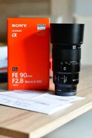 Sony SEL 90 mm F2