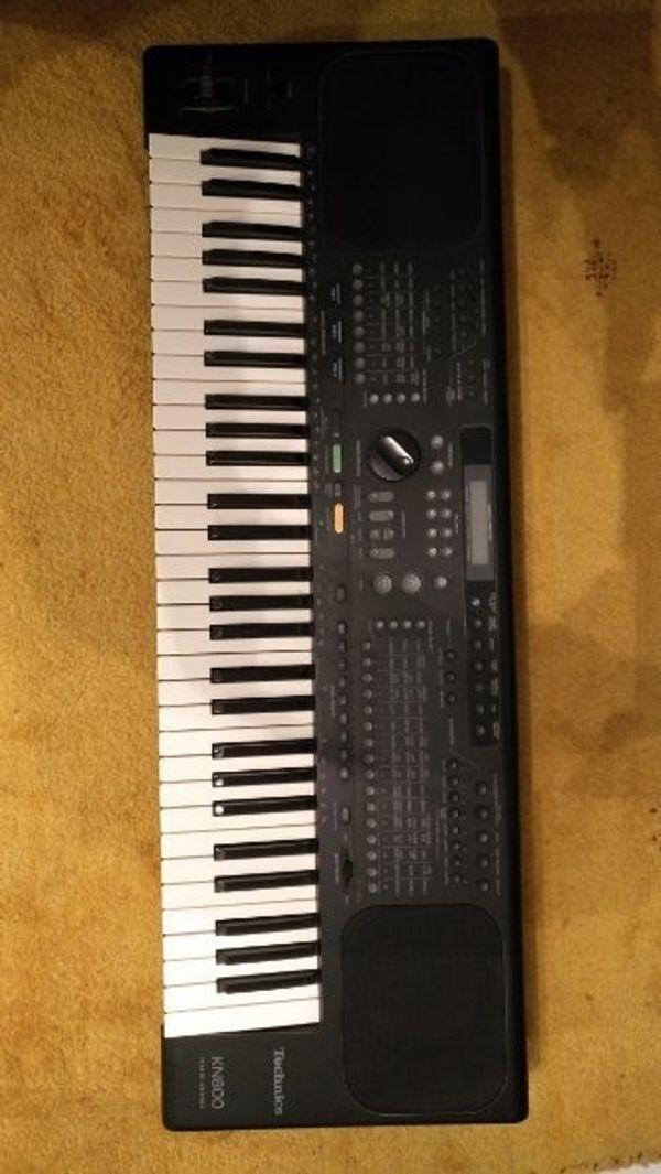 technics KN 800 keyboard