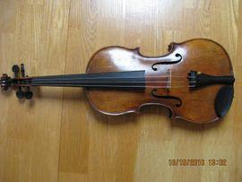 Streich- und Zupfinstrumente - Geige