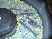 Trowalisier material Gleitschleif material Keramische