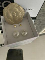 Chanel CC Ohrstecker Neu