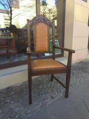 Kamin-Stuhl ca 1905 antike Möbel