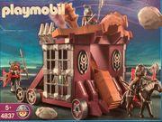 Playmobil Riesenschleuder mit Gefangenenzelle