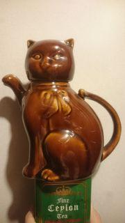 Kaffee- Teekanne in Katzenform