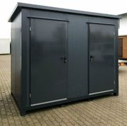 WC Container Toilettenbox Campingplatz-Toilette Sanitärcontainer