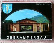 Altes Andenkenmäppchen Oberammergau