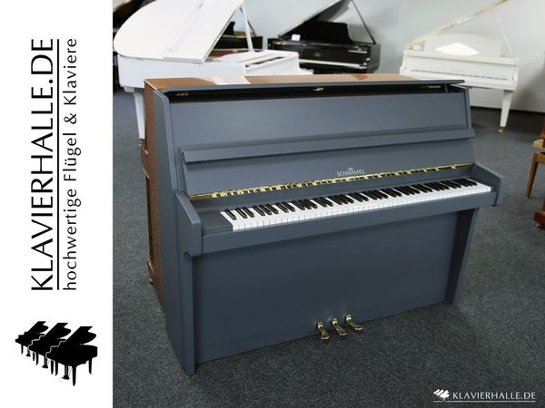 Schimmel Klavier Modell 112 platingrau