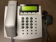 Tischtelefon AGFEO T15 silber