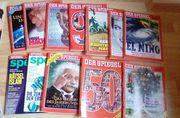 Der Spiegel verschiedene Hefte zu