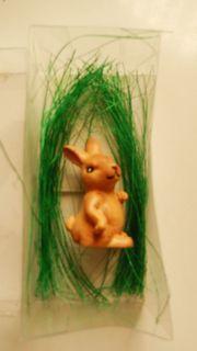 Osterdekoration - kleiner Hase - ca 5