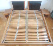 Doppelbett Buche Massivholz sehr hochwertig
