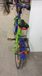 Fahrrad 18 Zoll mit 3