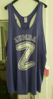Zumba Universal Print Tank
