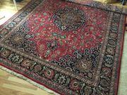 Orient Teppich Mashad handgeknüpft 395